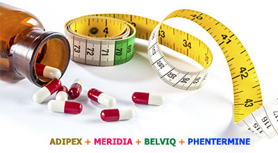 information on various weight loss drugs